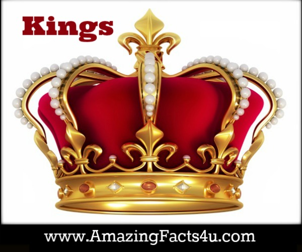 Kings Amazing Facts