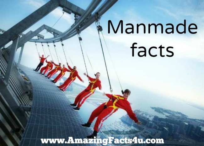 Manmade Amazing Facts