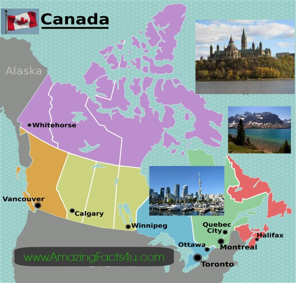 Canada Amazing Facts