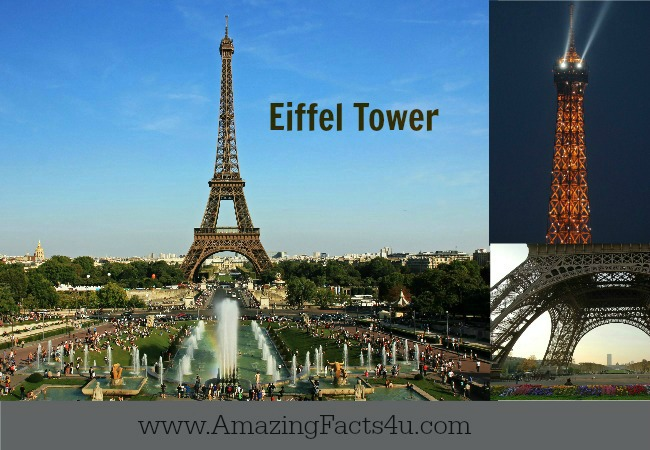 Eiffel Tower Amazing Facts 4 U