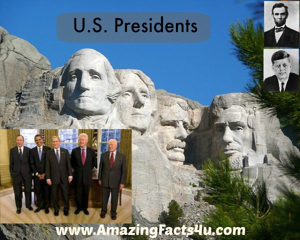 US Presidents Amazing Facts 4u