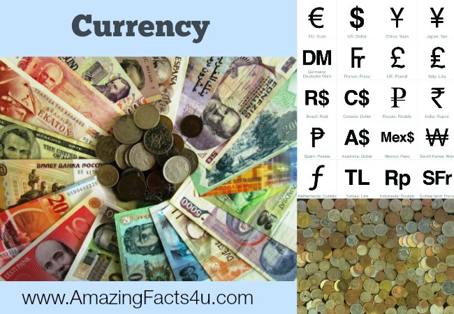 Currency AmazingFacts 4u