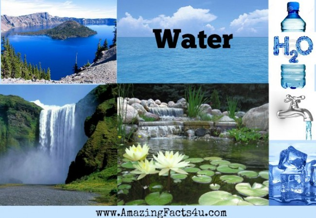 Water Amazing Facts