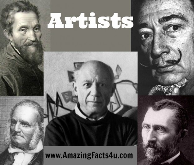 Artists Amazing Facts