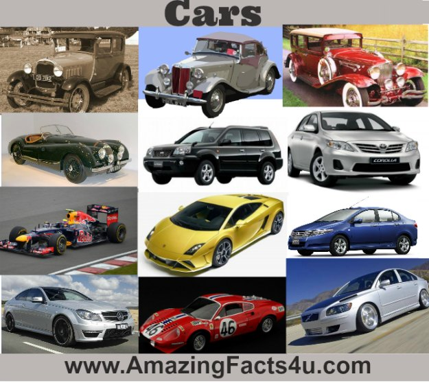 Cars Amazing facts 4u