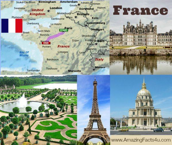 France Amazing Facts 4u