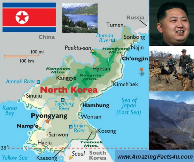 North Korea Amazing facts