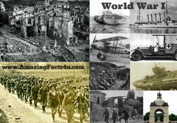 WWI Amazing Facts