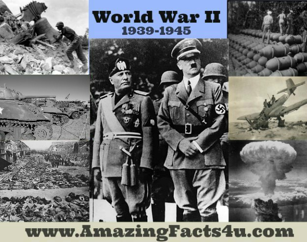 World War II Amazing Facts 4u