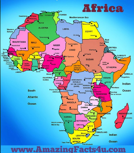 Africa Amazing Facts