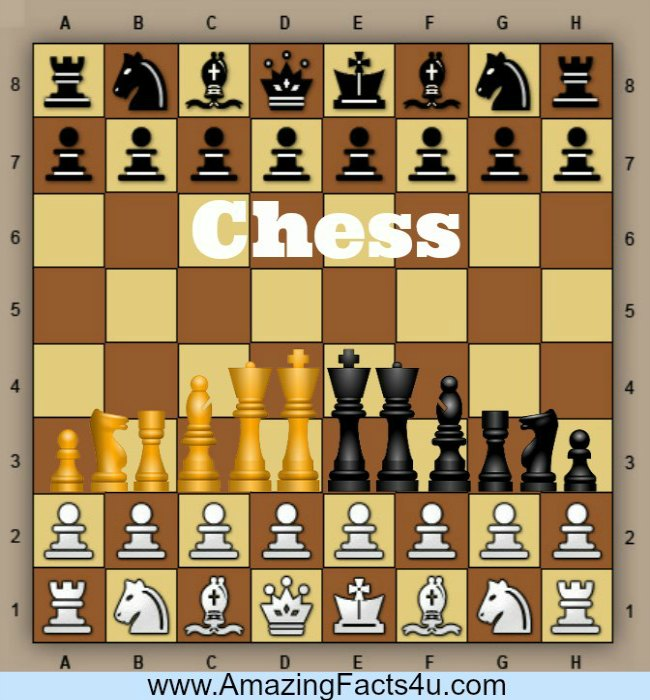 Chess Amazing Facts 4u