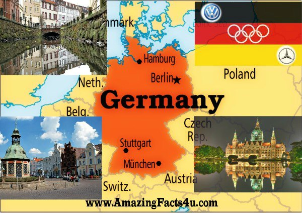 Germany Amazing facts 4u