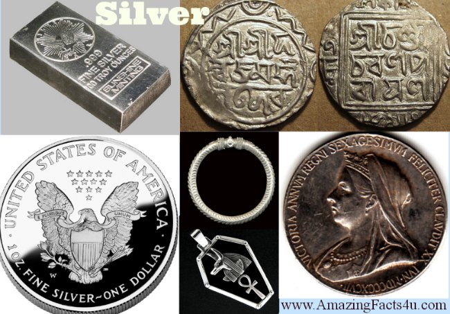 Silver Amazing facts
