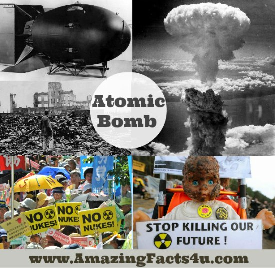 I need some facts on the atomic bomb from when it was first made in 1961?