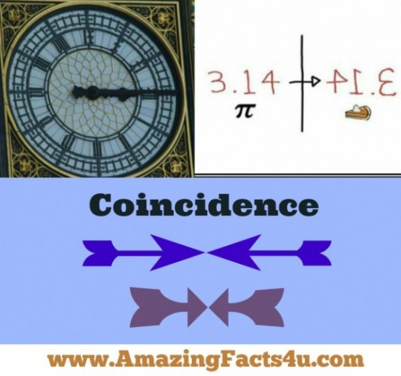 Coincidence Amazing Facts