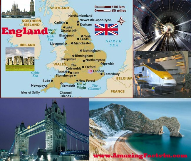 England Amazing Facts