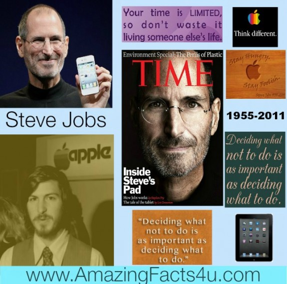 Steve Jobs Amazing Facts