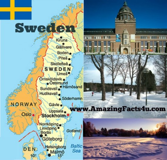 Sweden Amazing Facts 4u