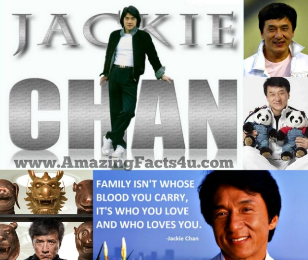 Jackie Chan Amazing Facts