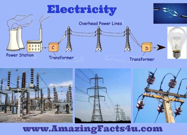 Electricity Amazing Facts