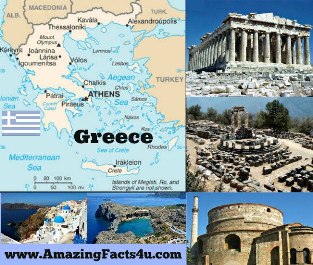 Greece Amazing Facts 4u