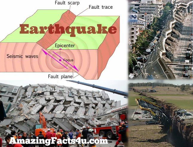 Earthquake Amazing Facts