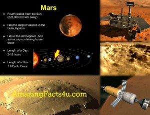 Mars Amazing Facts