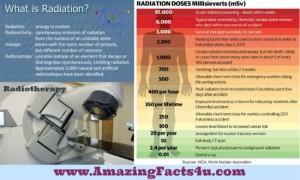 Radiation Amazing Facts