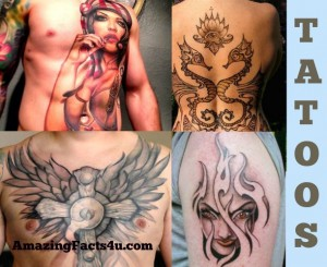 Tatoos Amazing Facts