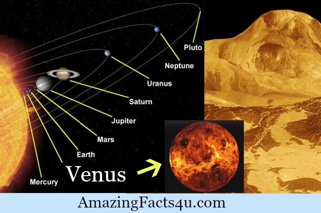Venus Amazing facts