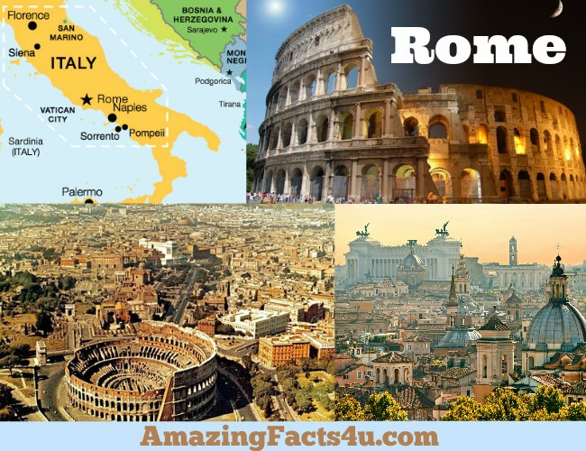 Rome Amazing Facts