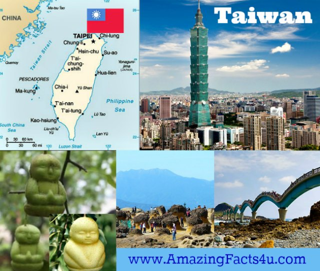 Taiwan Amazing facts